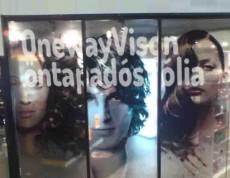 OneWayVision Vinyl fólia