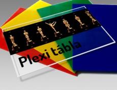 Műanyag PLEXI Tábla