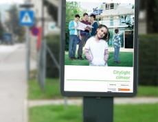 Új Széchenyi Terv Citylight poszter